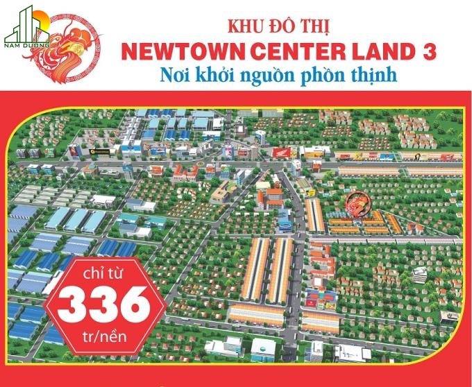 dự án newtown center land3